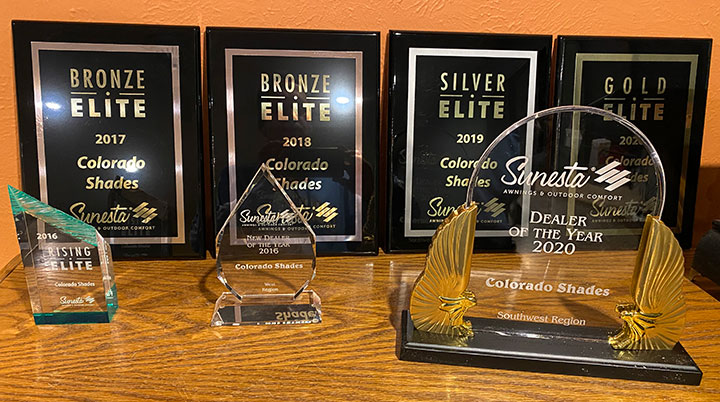 Colorado Shades Awards